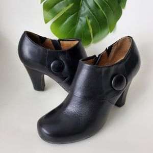 Miz Mooz Maya Leather Booties Retro